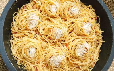 Recepta d'Espaguetis Mussarafood